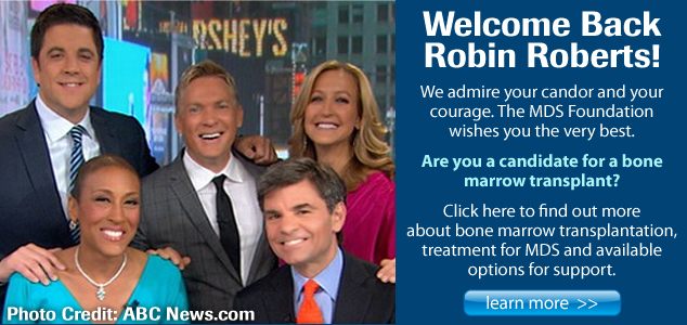 Welcome Back Robin Roberts