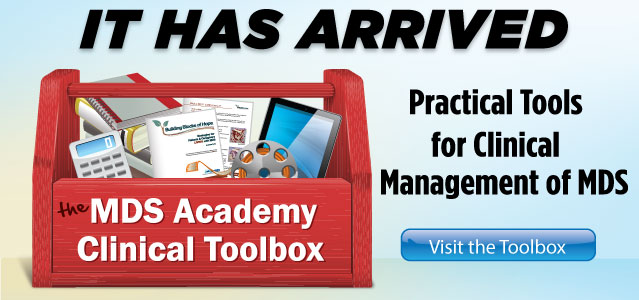 MDS Foundation Clinical Toolbox