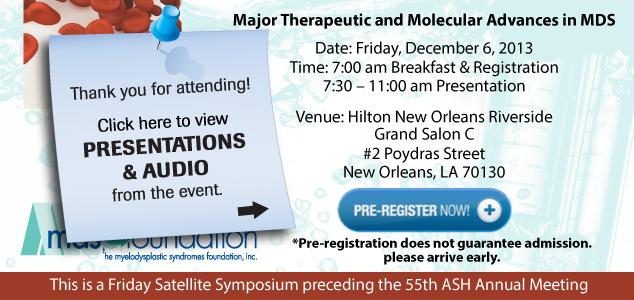 Therapeutic Advances Seminar 2013