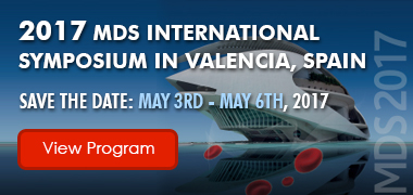 2017 MDS International Symposium in Valencia, Spain