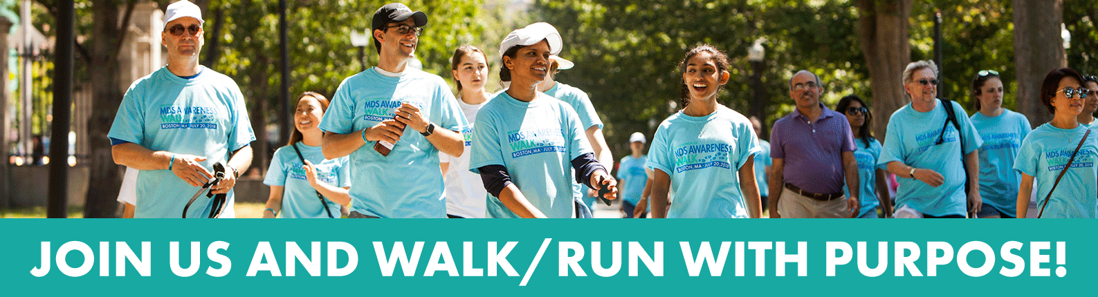 Join us and walk/run with purpose!