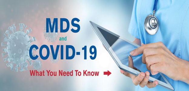 COVID-19 and MDS